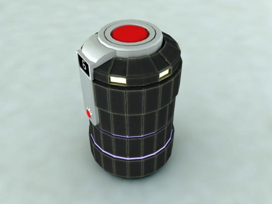 grenade royalty-free 3d model - Preview no. 2
