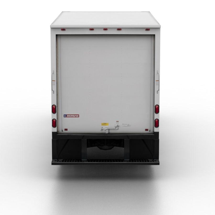 Freightliner Sprinter 3500 Box Van 2007 royalty-free 3d model - Preview no. 5