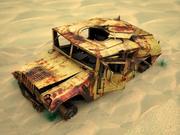 crash car 3d model