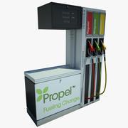Petrol Pump 02 3d model