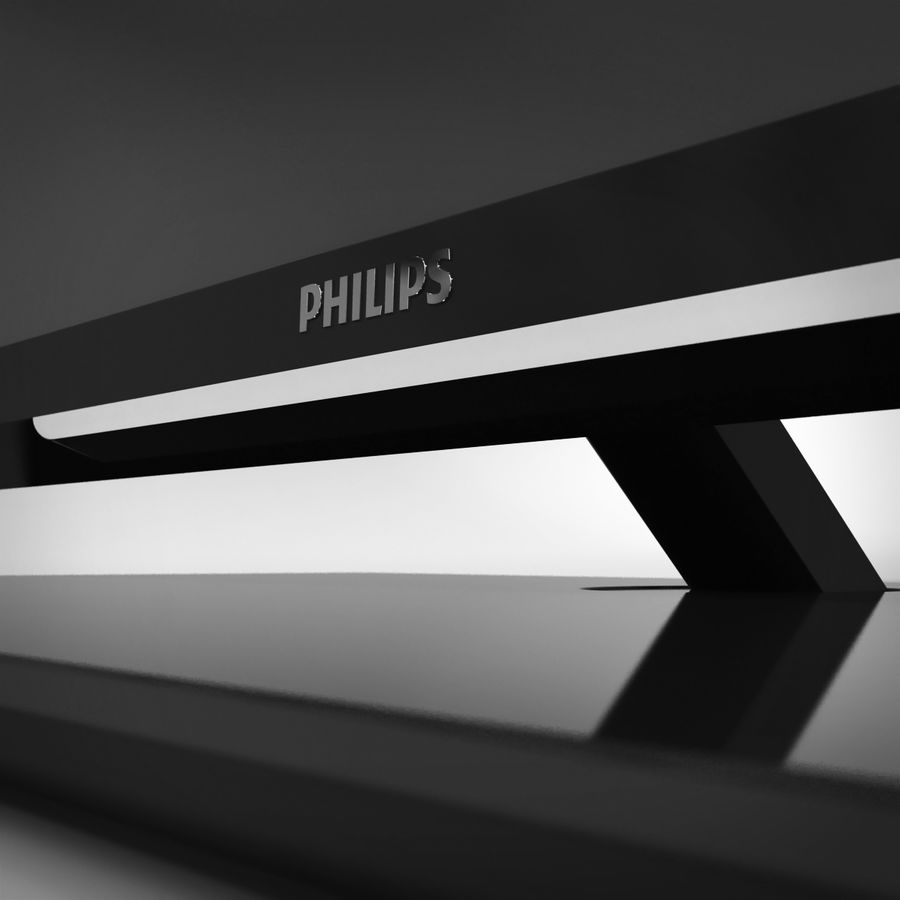 TV PHILIPS 3D LED royalty-free 3d model - Preview no. 6