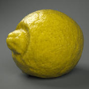 レモン 3d model