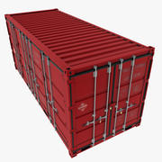 Open Side Container 3d model
