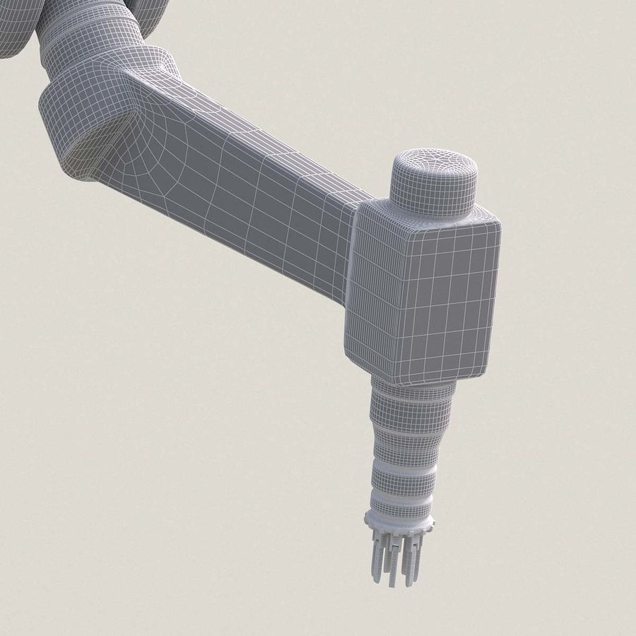 Robotic Arm royalty-free 3d model - Preview no. 27