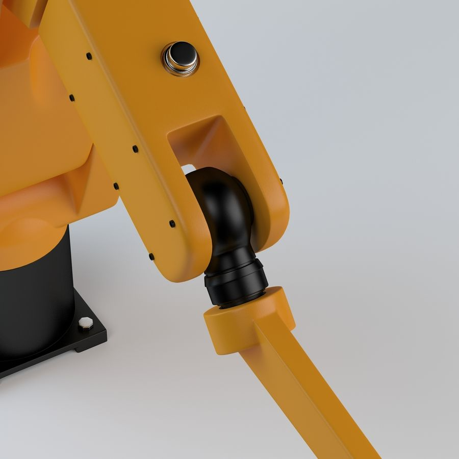 Robotic Arm royalty-free 3d model - Preview no. 4
