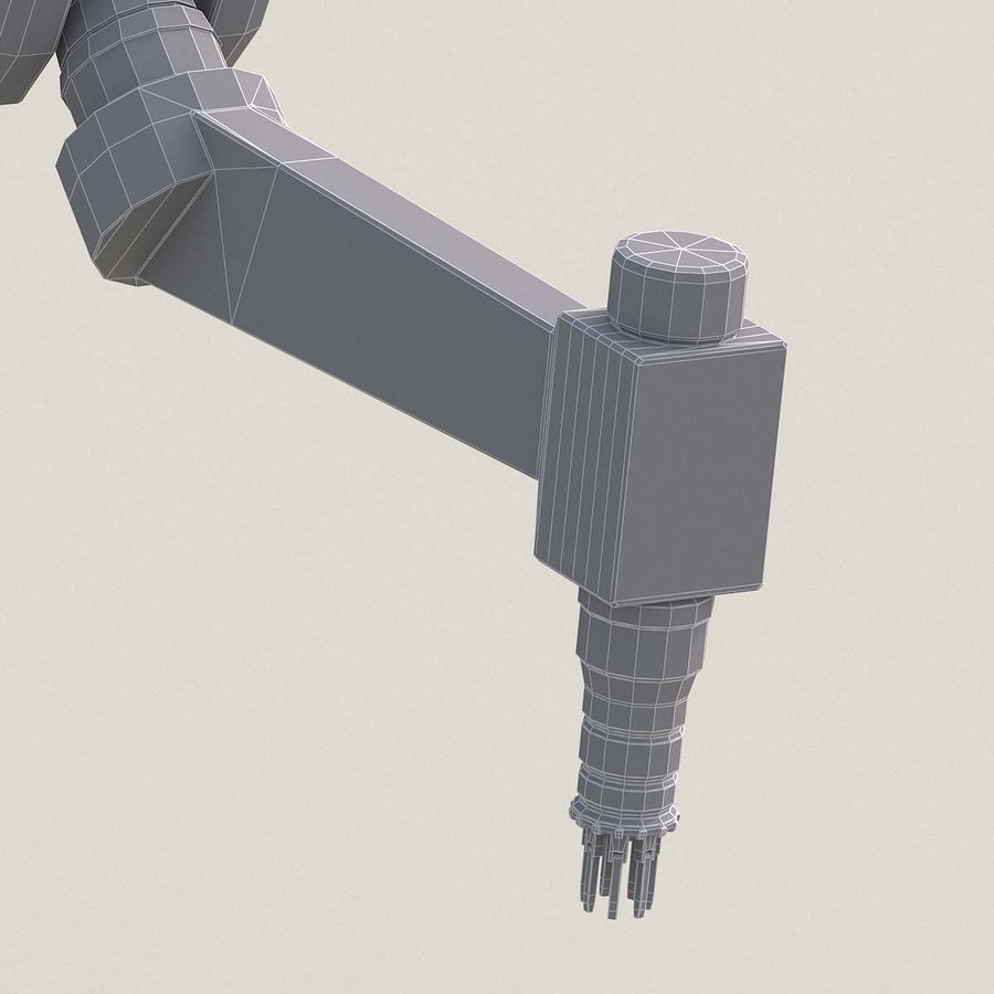 Robotic Arm royalty-free 3d model - Preview no. 26