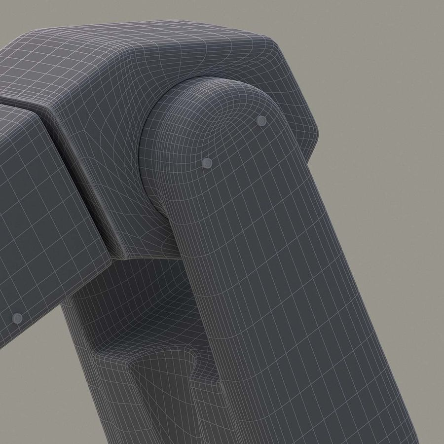 Robotic Arm royalty-free 3d model - Preview no. 19