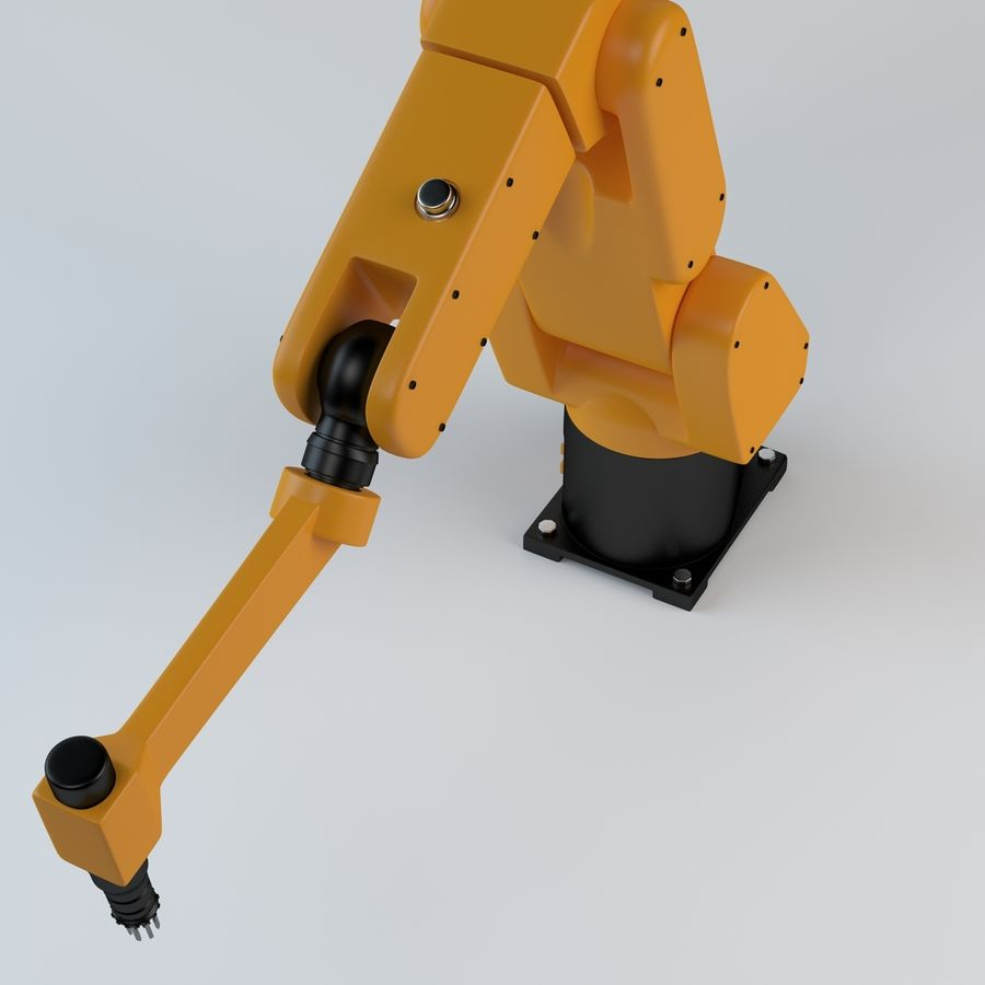 Robotic Arm royalty-free 3d model - Preview no. 3