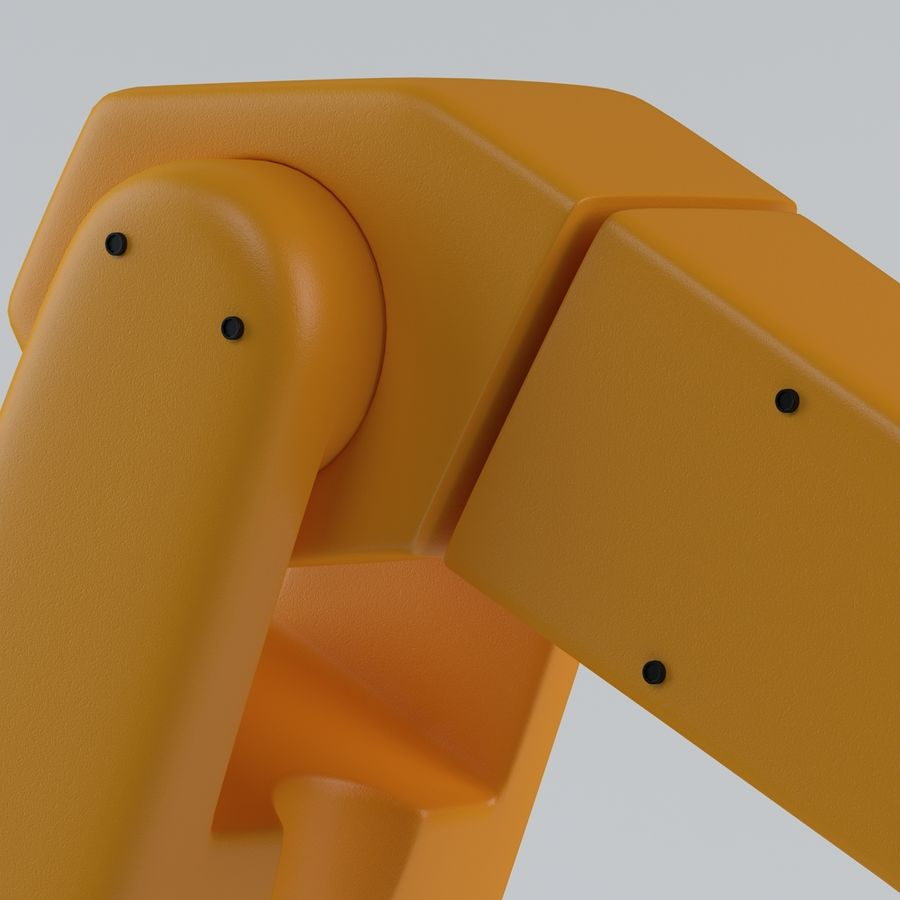 Robotic Arm royalty-free 3d model - Preview no. 5