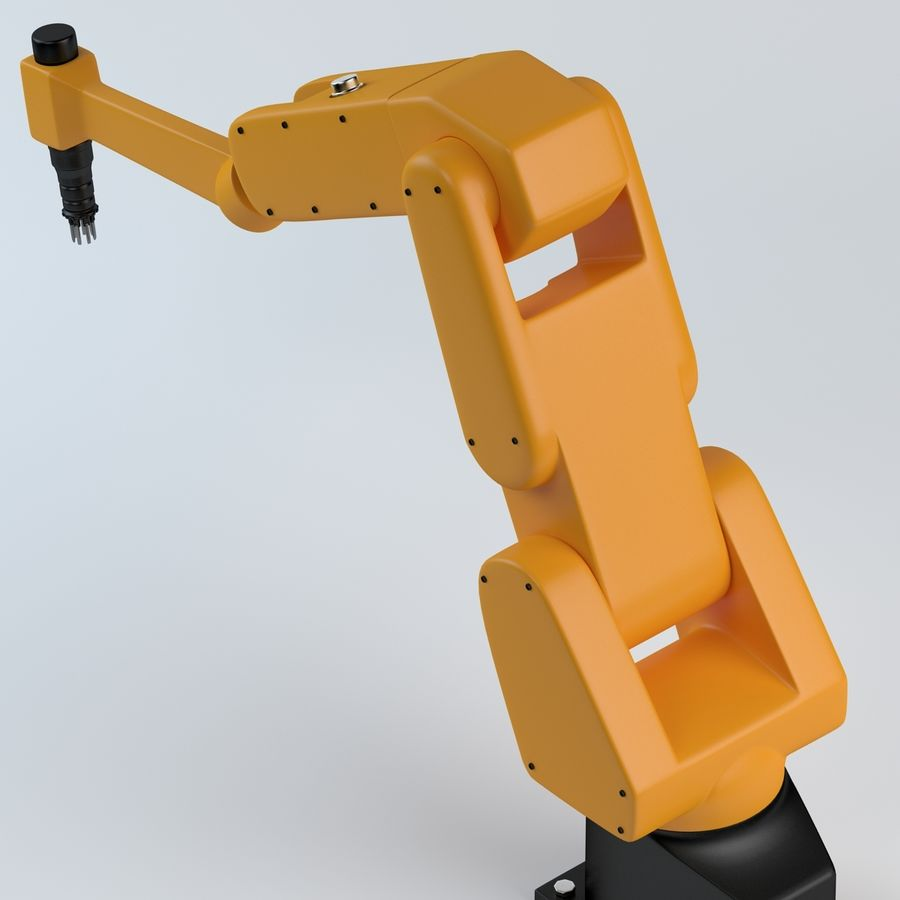 Robotic Arm royalty-free 3d model - Preview no. 9