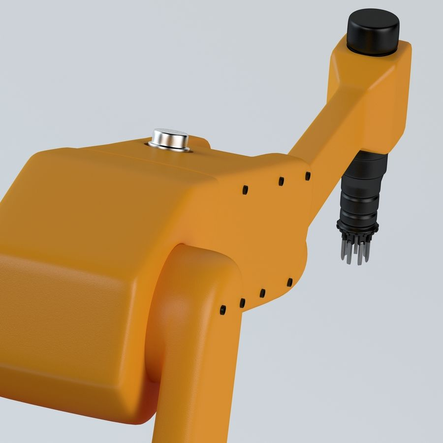 Robotic Arm royalty-free 3d model - Preview no. 8