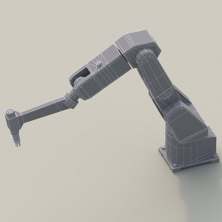 Robotic Arm royalty-free 3d model - Preview no. 12