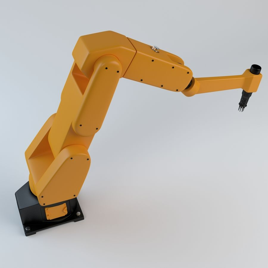 Robotic Arm royalty-free 3d model - Preview no. 2