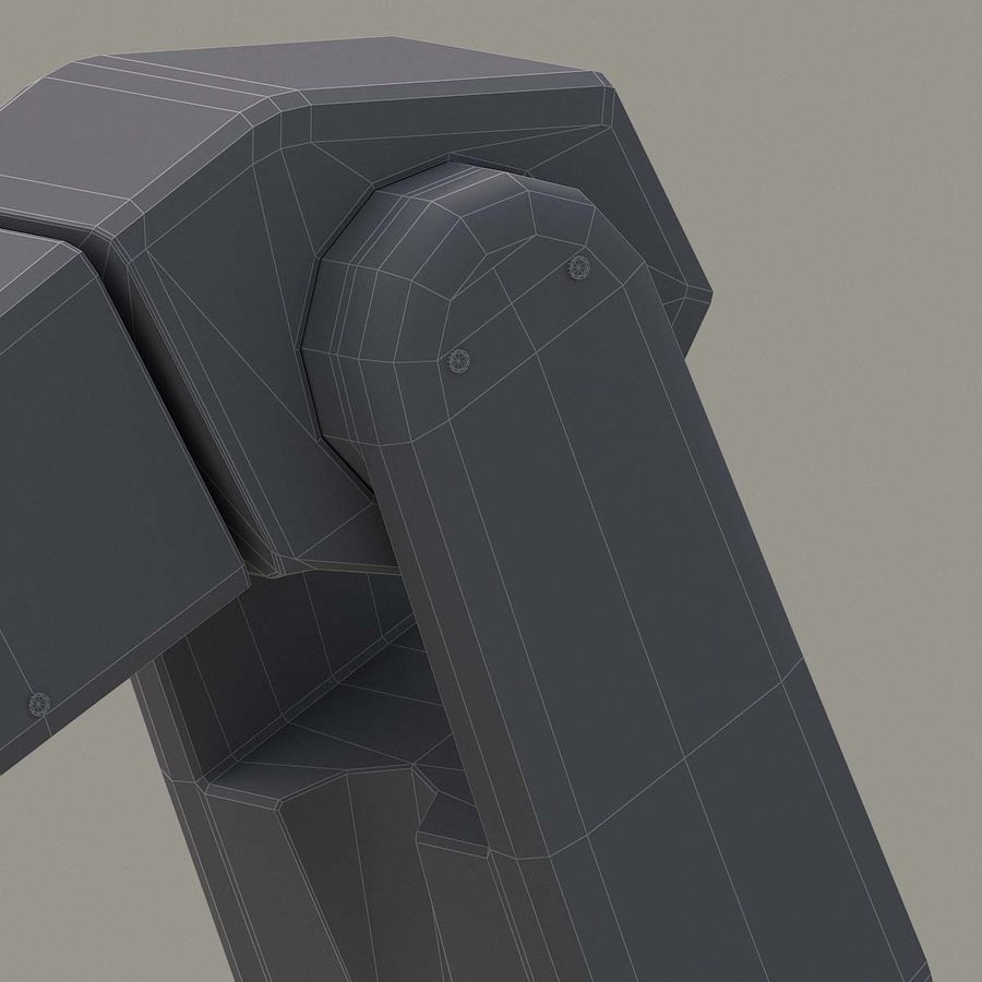 Robotic Arm royalty-free 3d model - Preview no. 18