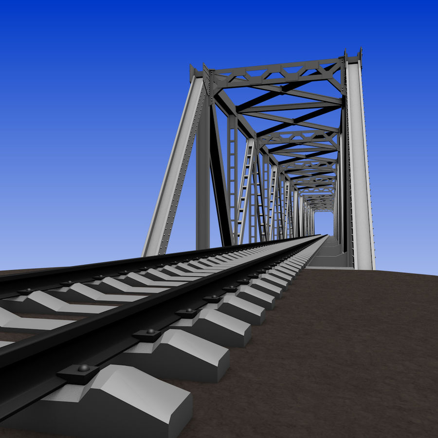 Frame Bridge royalty-free 3d model - Preview no. 7