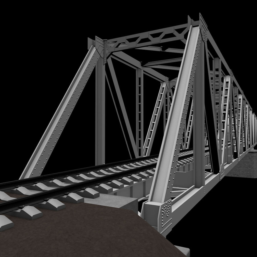 Frame Bridge royalty-free 3d model - Preview no. 6