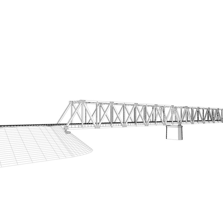 Frame Bridge royalty-free 3d model - Preview no. 10