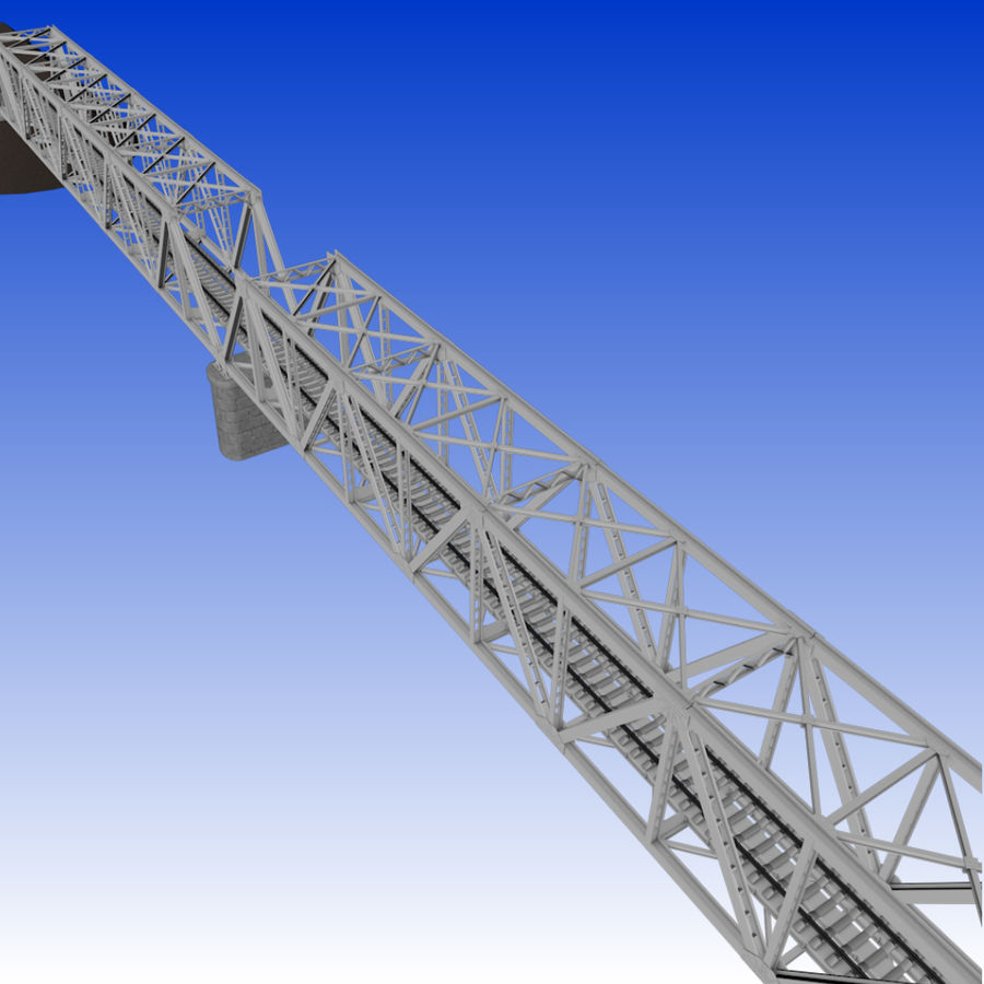 Frame Bridge royalty-free 3d model - Preview no. 11
