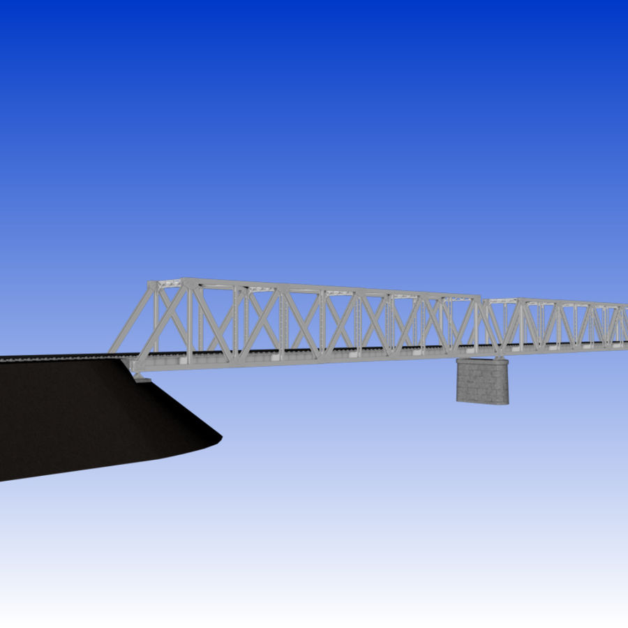 Frame Bridge royalty-free 3d model - Preview no. 9