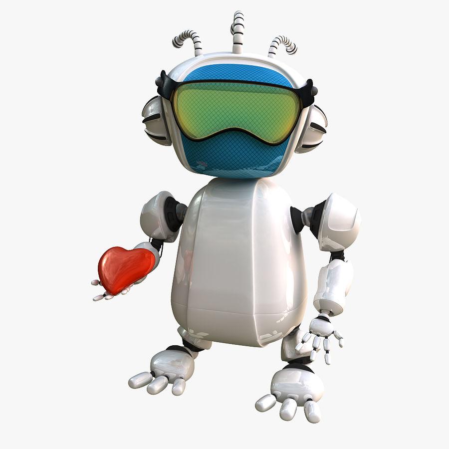 Robot Bot royalty-free 3d model - Preview no. 1