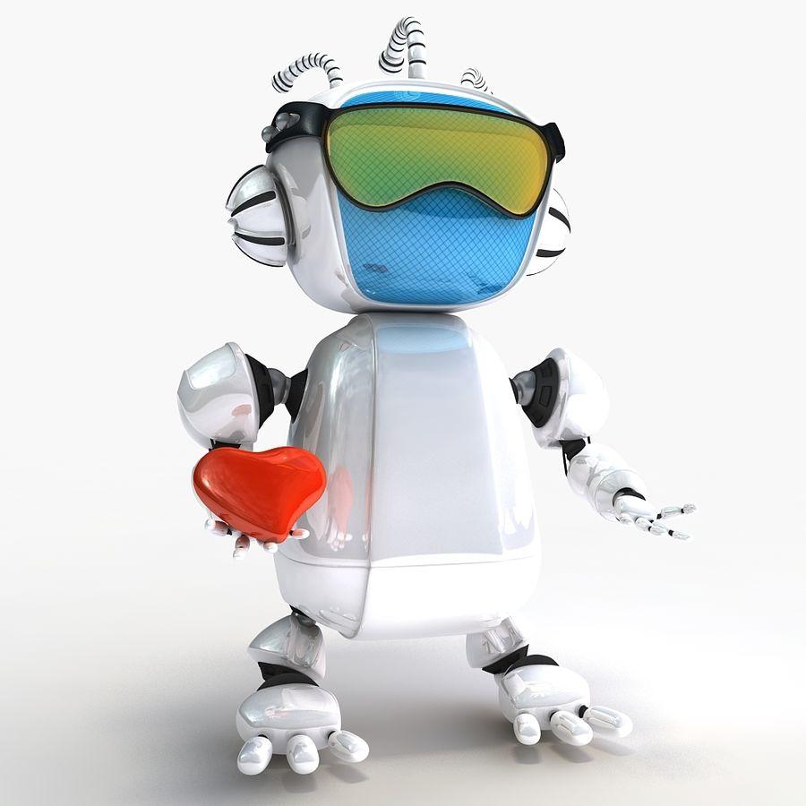 Robot Bot royalty-free 3d model - Preview no. 3