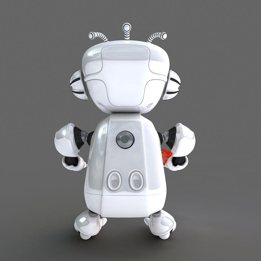 Robot Bot royalty-free 3d model - Preview no. 7