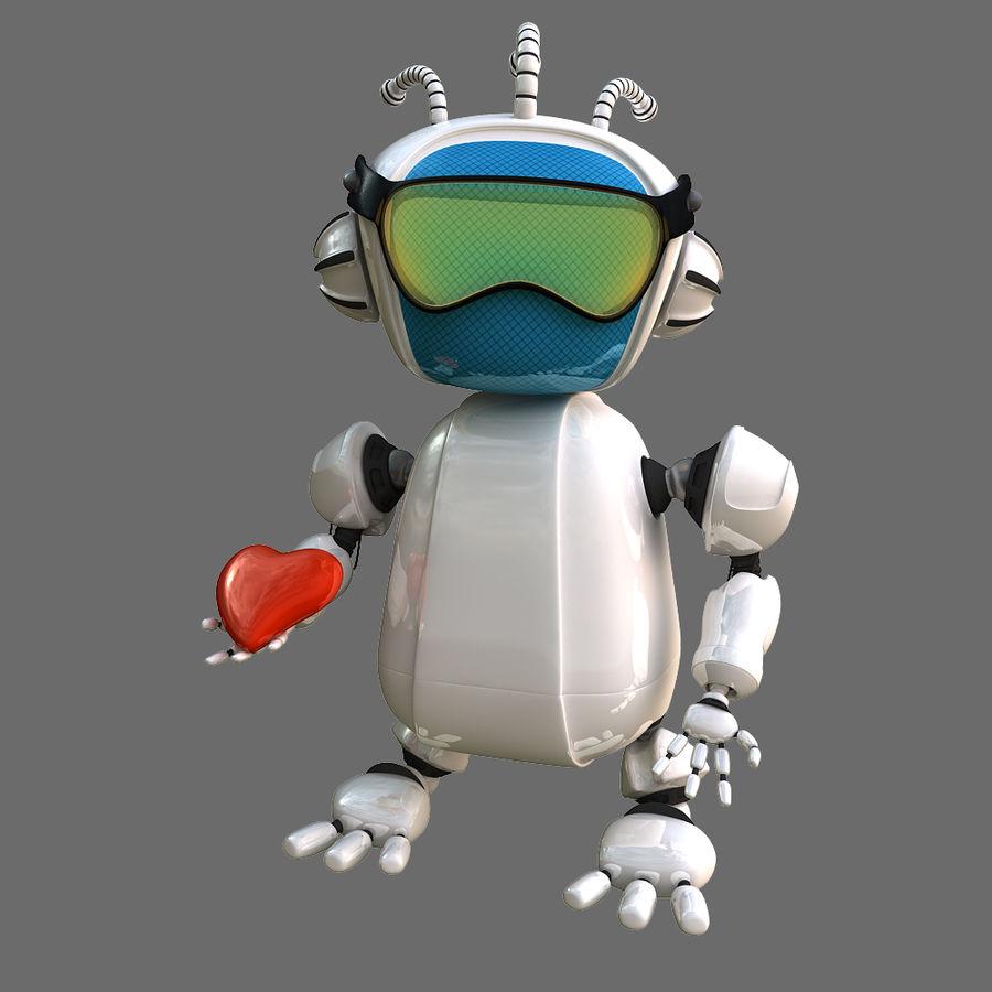Robot Bot royalty-free 3d model - Preview no. 9