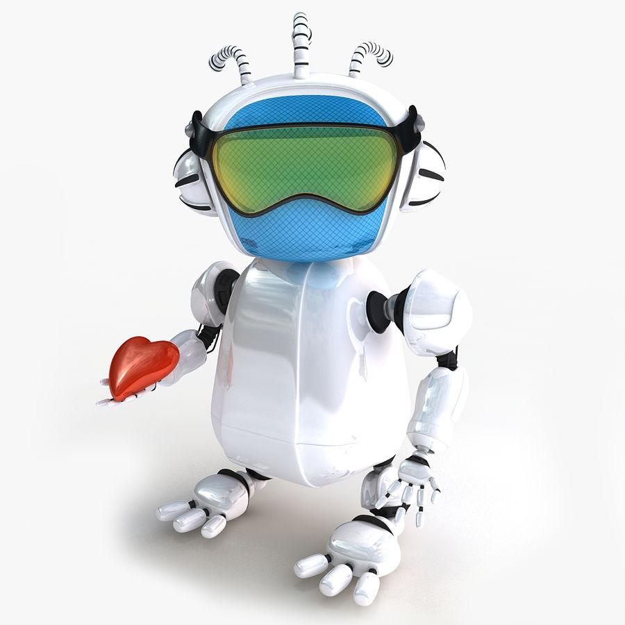 Robot Bot royalty-free 3d model - Preview no. 8