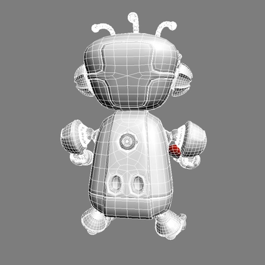 Robot Bot royalty-free 3d model - Preview no. 11