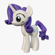 Min Little Pony Rarity 3d model