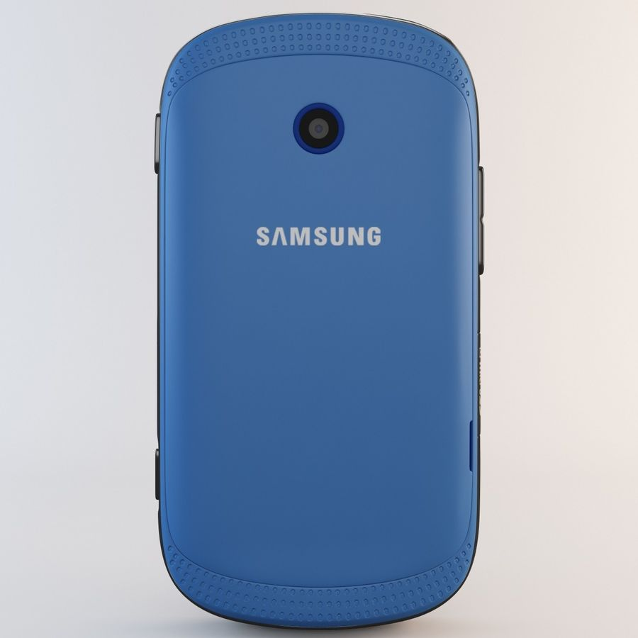 Samsung Galaxy Music Blue royalty-free 3d model - Preview no. 6