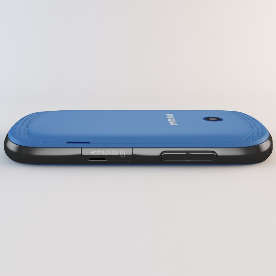 Samsung Galaxy Music Blue royalty-free 3d model - Preview no. 16