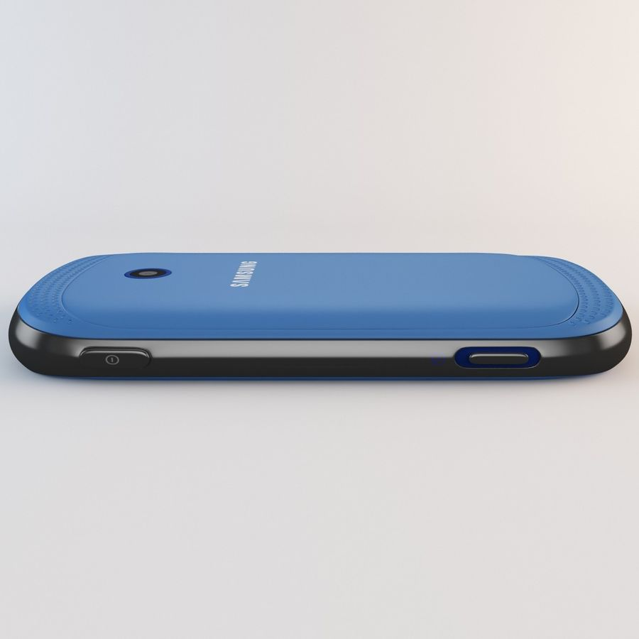 Samsung Galaxy Music Blue royalty-free 3d model - Preview no. 17