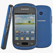 Samsung Galaxy Music Blue 3d model