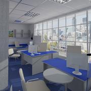 사무실 31 3d model