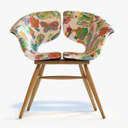 Tortie Hoare - Butterfly Chair 3d model