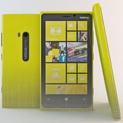 Nokia Lumia 920 Jaune 3d model
