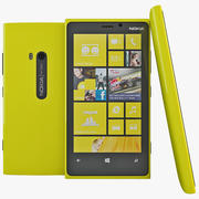 Nokia Lumia 920 Yellow 3d model