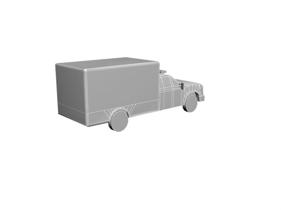 Ambulance royalty-free 3d model - Preview no. 8