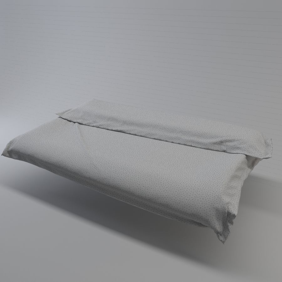 blanket royalty-free 3d model - Preview no. 4