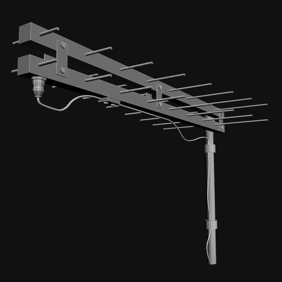 Antenn-tv royalty-free 3d model - Preview no. 7