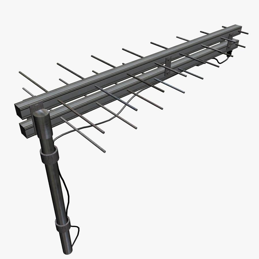 Antenn-tv royalty-free 3d model - Preview no. 2