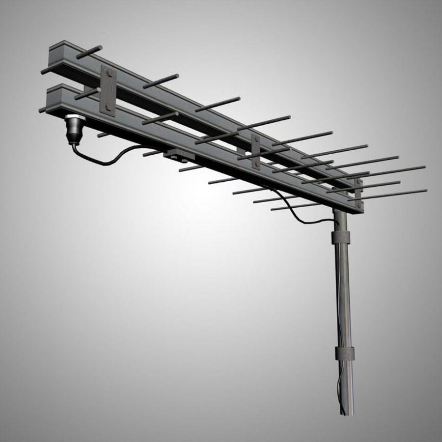 Antenn-tv royalty-free 3d model - Preview no. 1