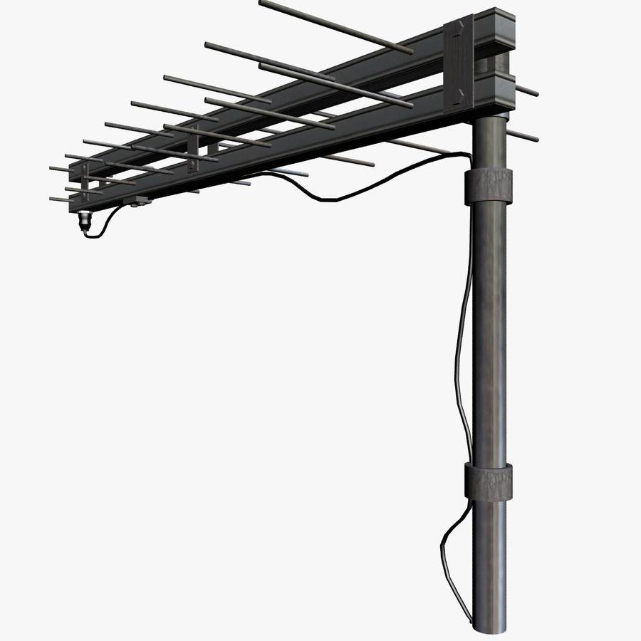 Antenn-tv royalty-free 3d model - Preview no. 5
