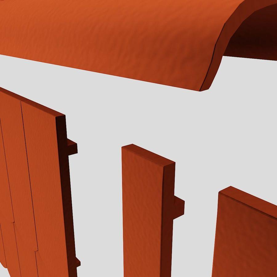 Обычная плитка royalty-free 3d model - Preview no. 4
