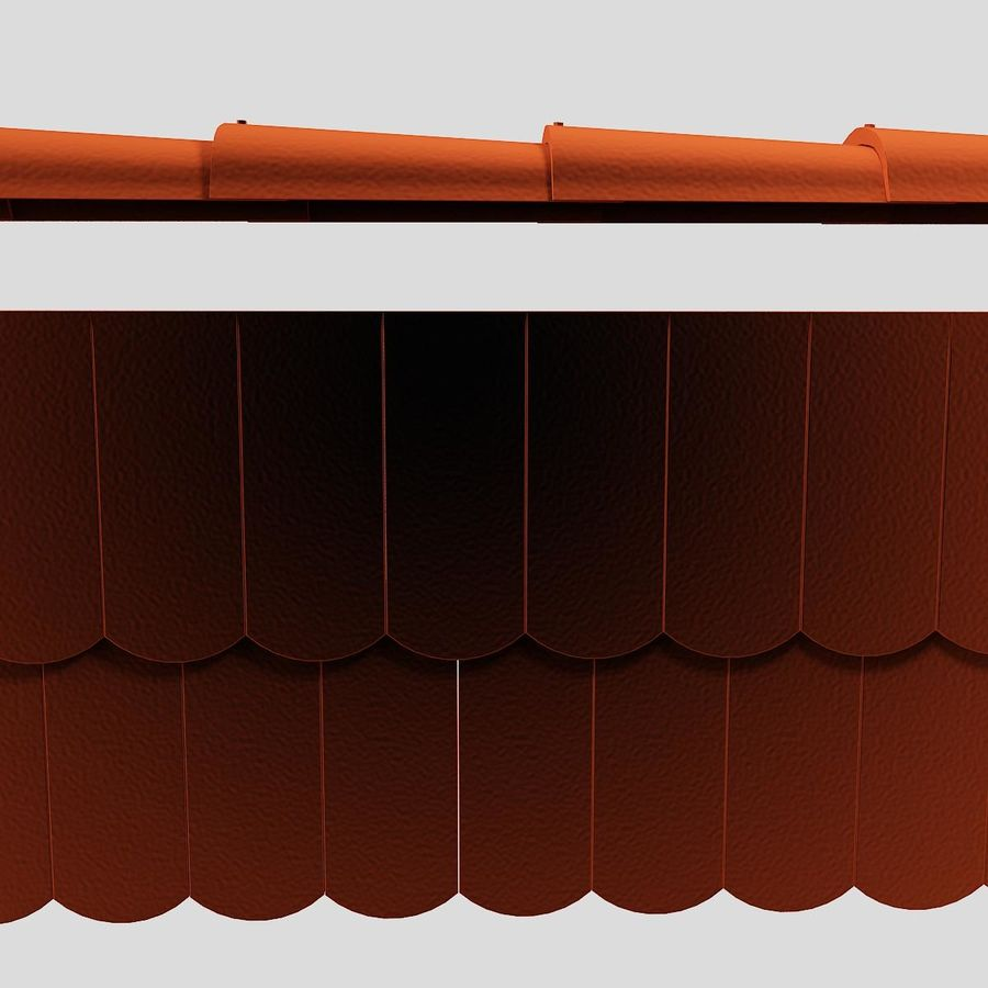 Обычная плитка royalty-free 3d model - Preview no. 10