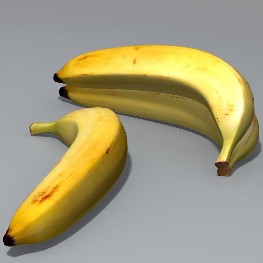 Banan royalty-free 3d model - Preview no. 2