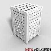 boîte à linge 3d model
