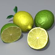 Lemon & Lime 3d model