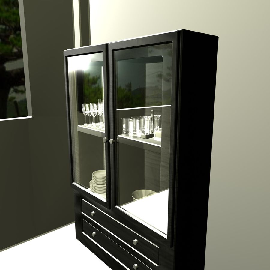 furniture royalty-free 3d model - Preview no. 1